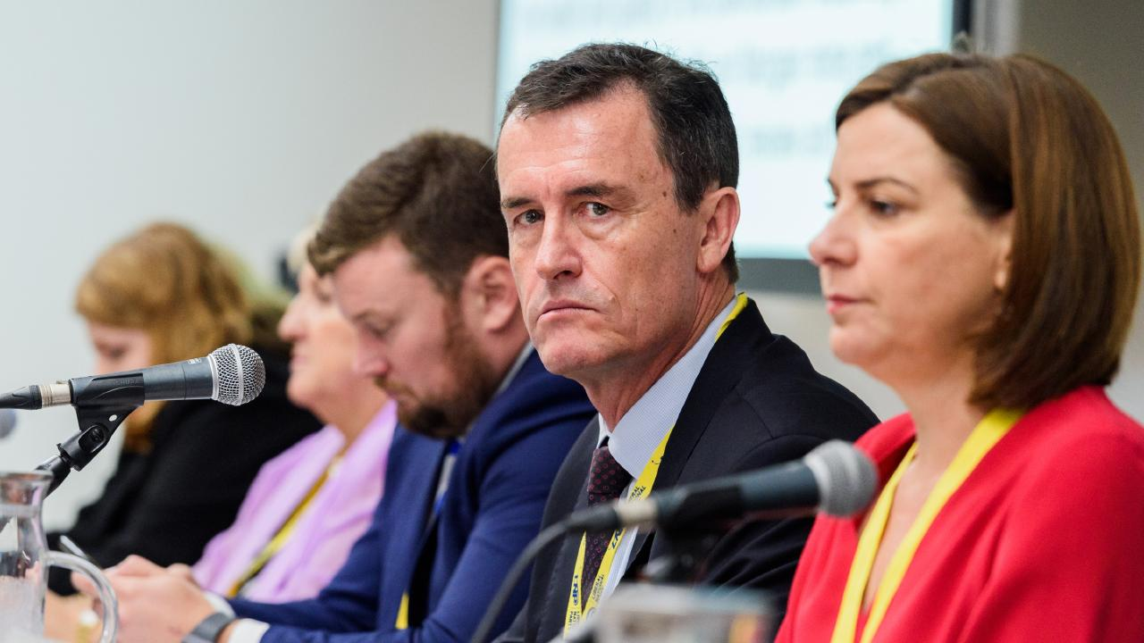 Liberal National Party national president Gary Spence is expected to resign today. Picture: Paul Beutel