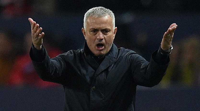 Manchester United were beaten by Valencia.