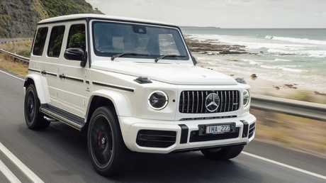 The G63 wears an eye-opening $250,000 price tag.