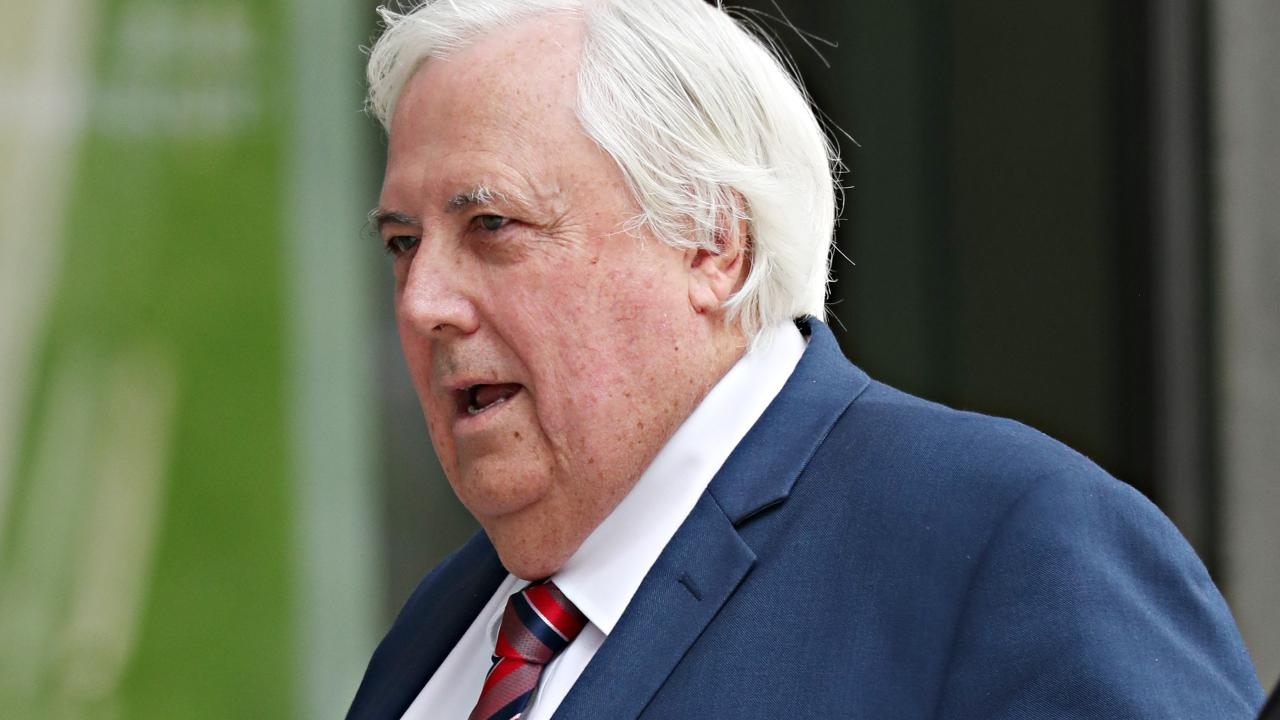 Clive Palmer is expected to be at the court . Pic Annette Dew