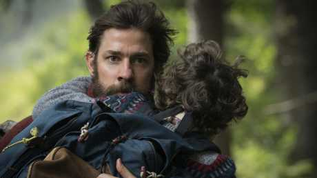 A Quiet Place is based around one simple idea — make a noise and you die. Pictures: AP