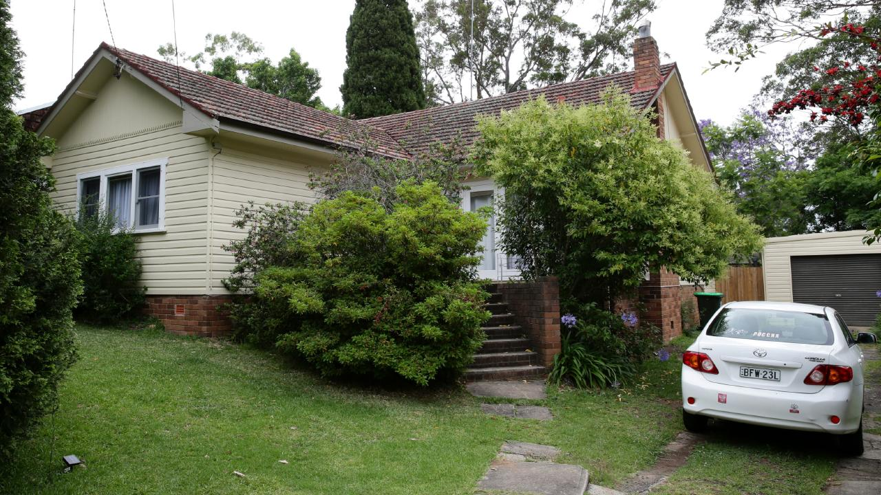 The body of Olga Edwards was found in her West Pennant Hills home yesterday. Picture: Jonathan Ng