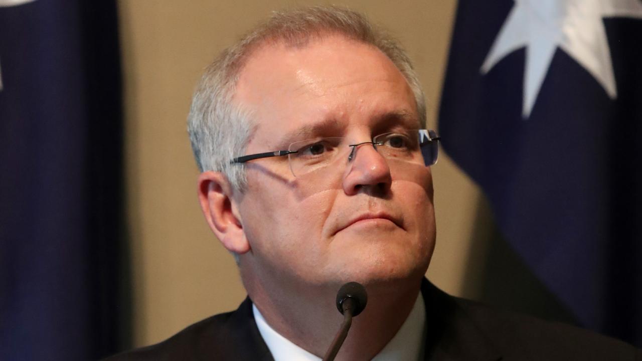 Prime Minister Scott Morrison. Picture: Kelly Barnes