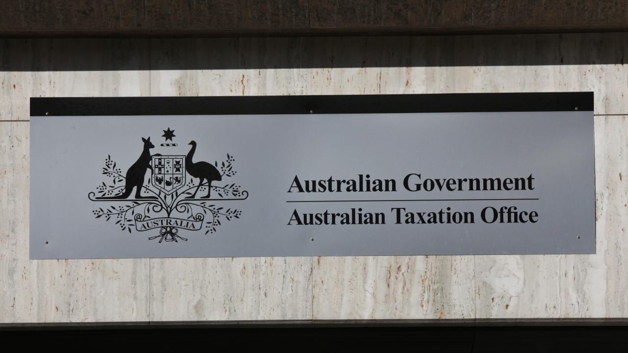 The Australian Government Taxation Office. Picture: AAP Image/April Fonti