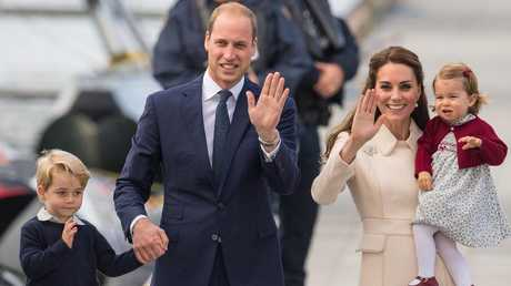 Prince William and Kate are fiercely protective of their private life. Picture: Dominic Lipinski/PA Wire