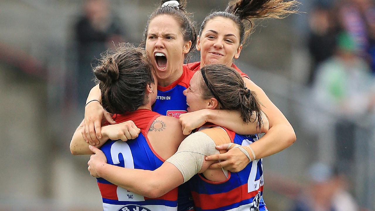 The AFLW has announced its TV broadcast rights agreement. Picture: Mark Stewart