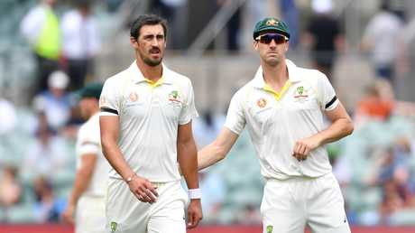 Mitchell Starc was far from his best in Adelaide. Picture: AAP