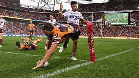 Corey Oates has become one of the best finishers in the NRL. Picture: AAP