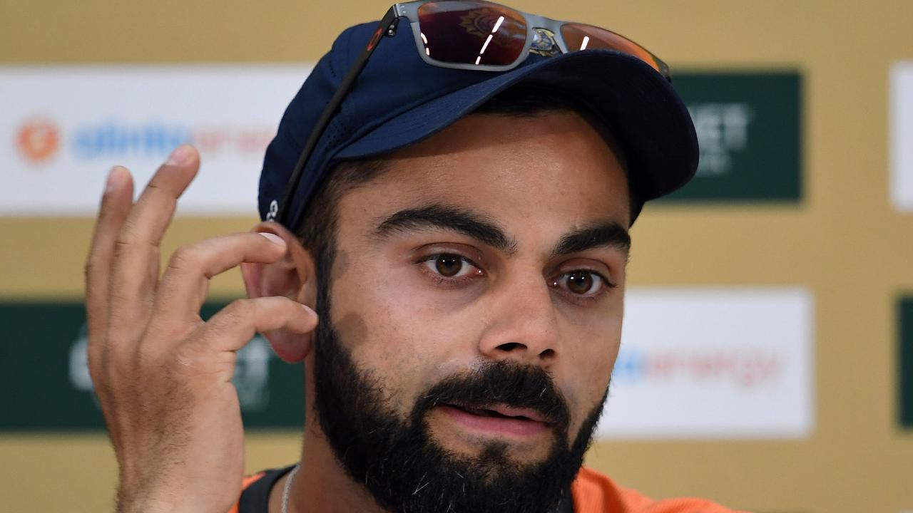 India's cricket captain Virat Kohli is excited by the Perth pitch.