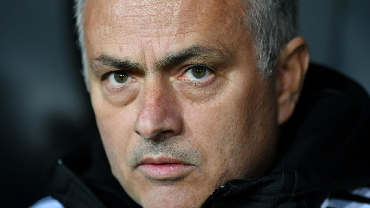 Jose Mourinho is under pressure at Old Trafford. Picture: Getty Images