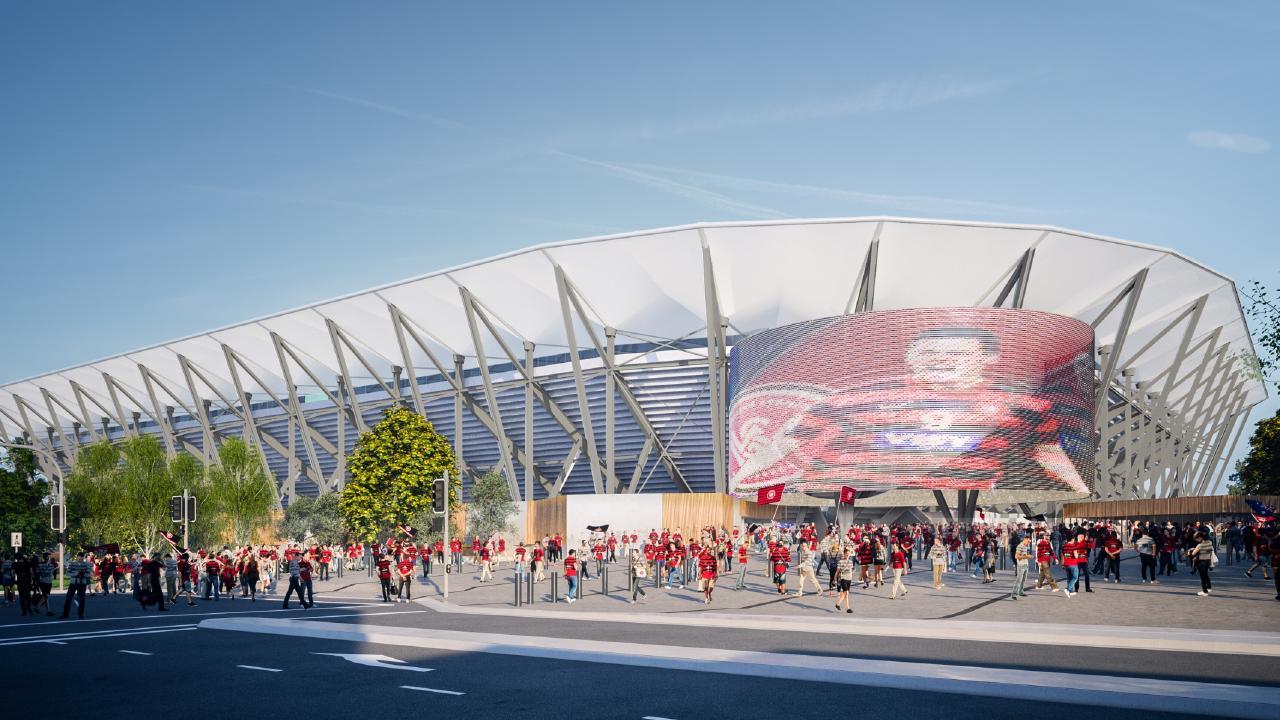 Western Sydney Wanderers' new stadium will come online next year.