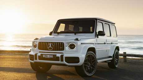 The G63's retro styling is a big part of its charm.