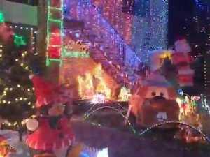 Christmas lights at Raceview