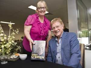 GALLERY: Kerry O'Brien gets warm welcome in Toowoomba