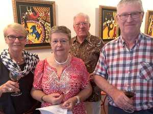Margaret Kennard, Trish Craig, Neil Craig and Chris