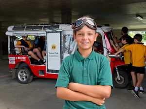 North Mackay Primary School student Tyree Durante