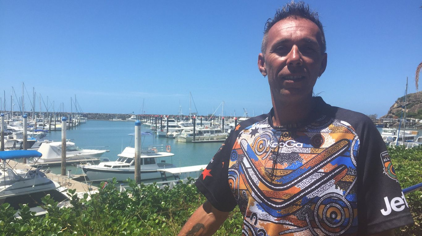 Nerark Morris is operating the first Woppaburra tourism business in Keppel Bay