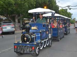 'TIS THE SEASON: Locals enjoyed taking joy rides up