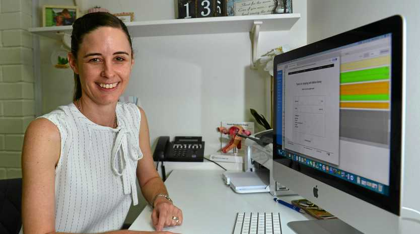 Obstetrician Dr Nerida Flannery.