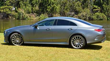 The Mercedes-Benz CLS450 Coupe.