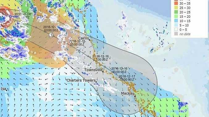 Severe tropical cyclone bears down on north Australia coast