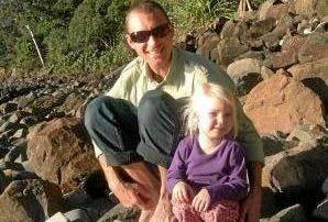 Eeva Dorendahl-Hutchings and her dad Greg Hutchings.