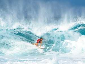Wilson makes promising start in hunt for world title at Pipe