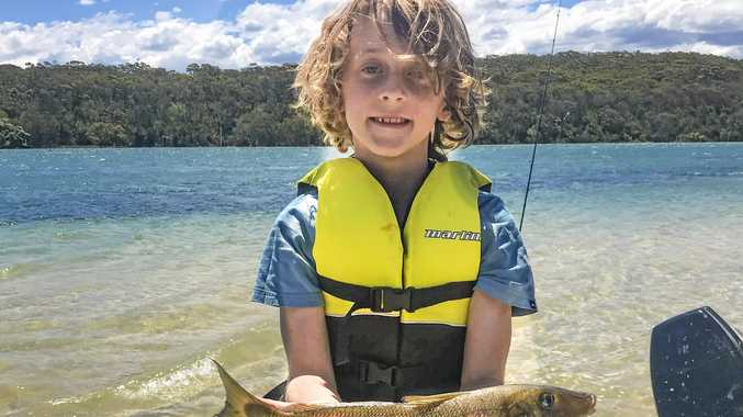Navrin hooks on to monster whiting