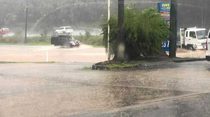 Flood watch: BOM re-issue warning for Coast beach