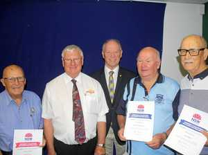 Legends honoured for their dedication