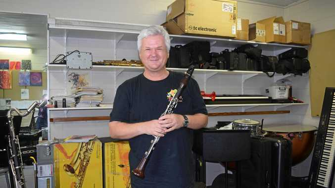 Instrumental music teacher Idris Harries will be performing the world premiere of a clarinet concerto written especially for him.