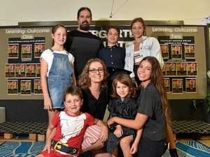 Last of six siblings to graduate daycare in 17 years