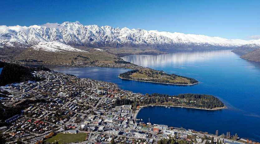 Kawarau Village - located on the Frankton Arm of Lake Wakatipu - Queenstown, New Zealand.