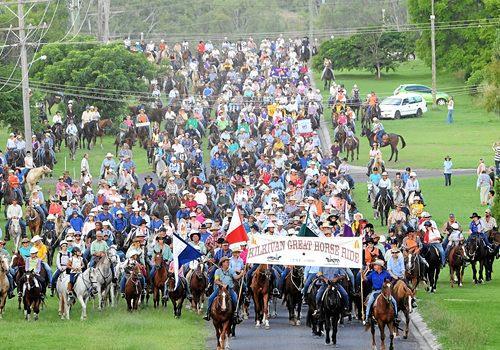 MOVED FORWARD: The Yarraman Great Horse Ride has been moved to February 2 because the Kilkivan Great Horse Ride is being held in March.