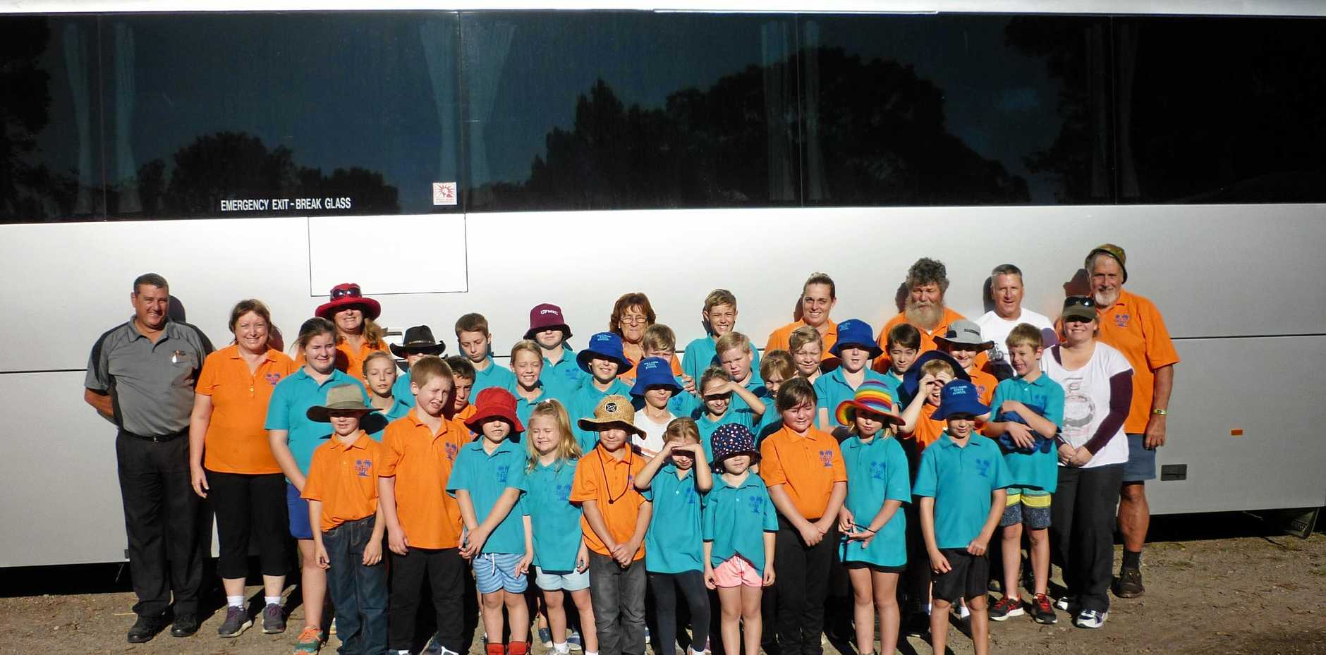 Dallarnil State School Camp at Luther Heights, Coolum.