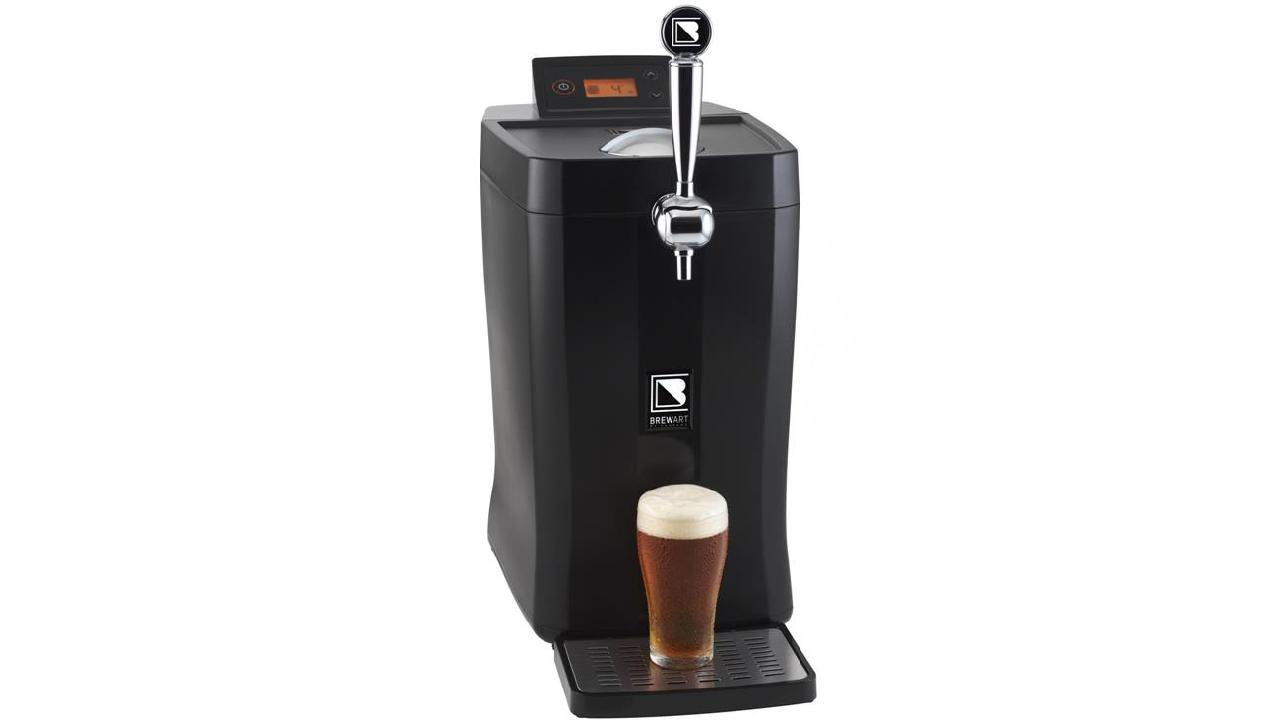 This wonderful product gives you cold beers from tap at home.