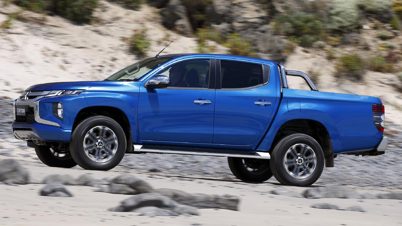 The Mitsubishi Triton is looking to bridge the sales gap with Toyota and Ford.