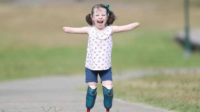 Mia walking tall after year of heartache