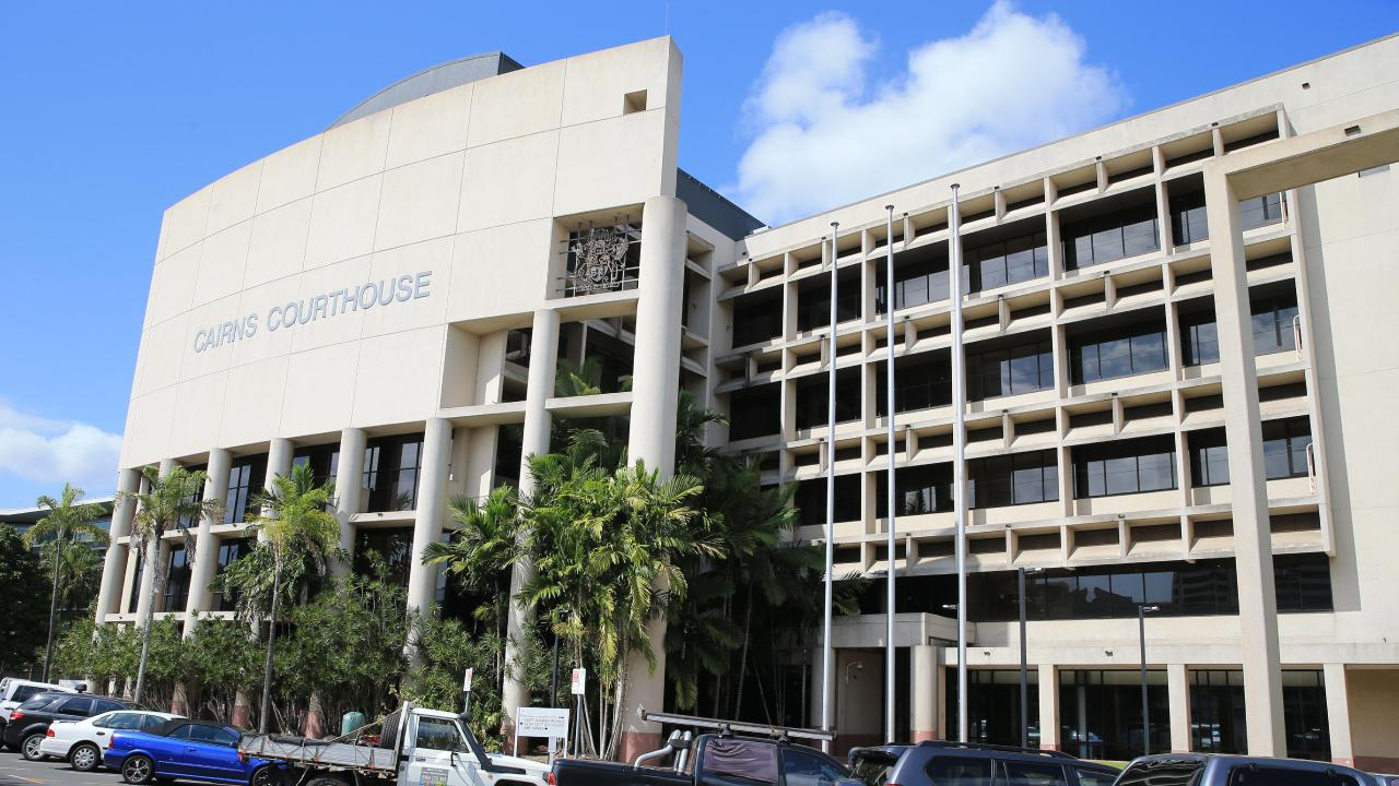 Garri Douglas Knight has appeared in the Cairns Court House PICTURE: JUSTIN BRIERTY