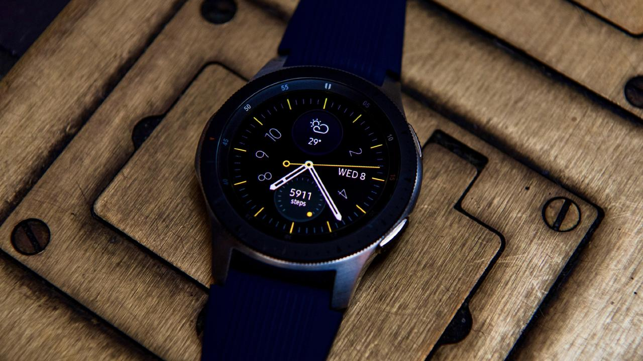 The Samsung Galaxy Watch is the company's first to feature its own mobile connection to work independently of a smartphone.