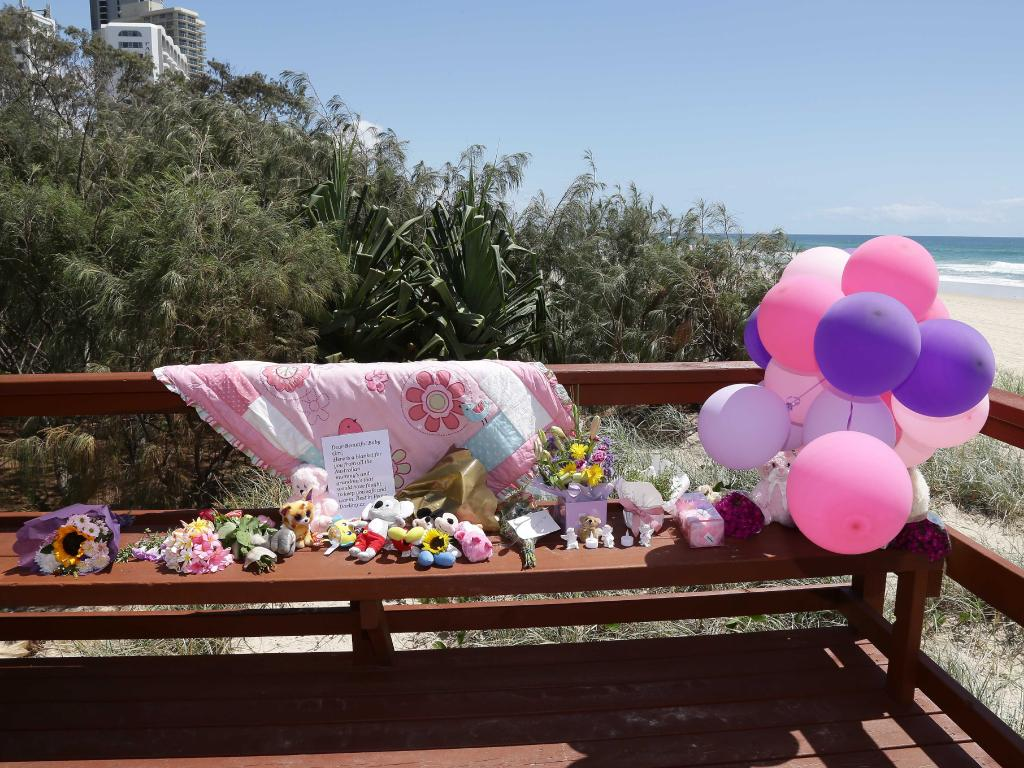 The young girl's death has rocked the communities in both Tweed Heads and the Gold Coast. Picture: Tertius Pickard