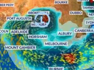 Dust storms, rains lash southern states