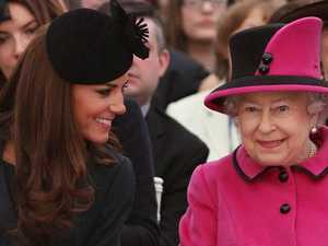 Kate visits Queen amid 'Meghan feud'