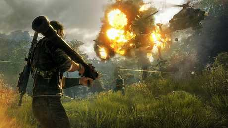 The game is known for its massive explosions.