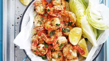 Prawns are a staple at the Christmas table.