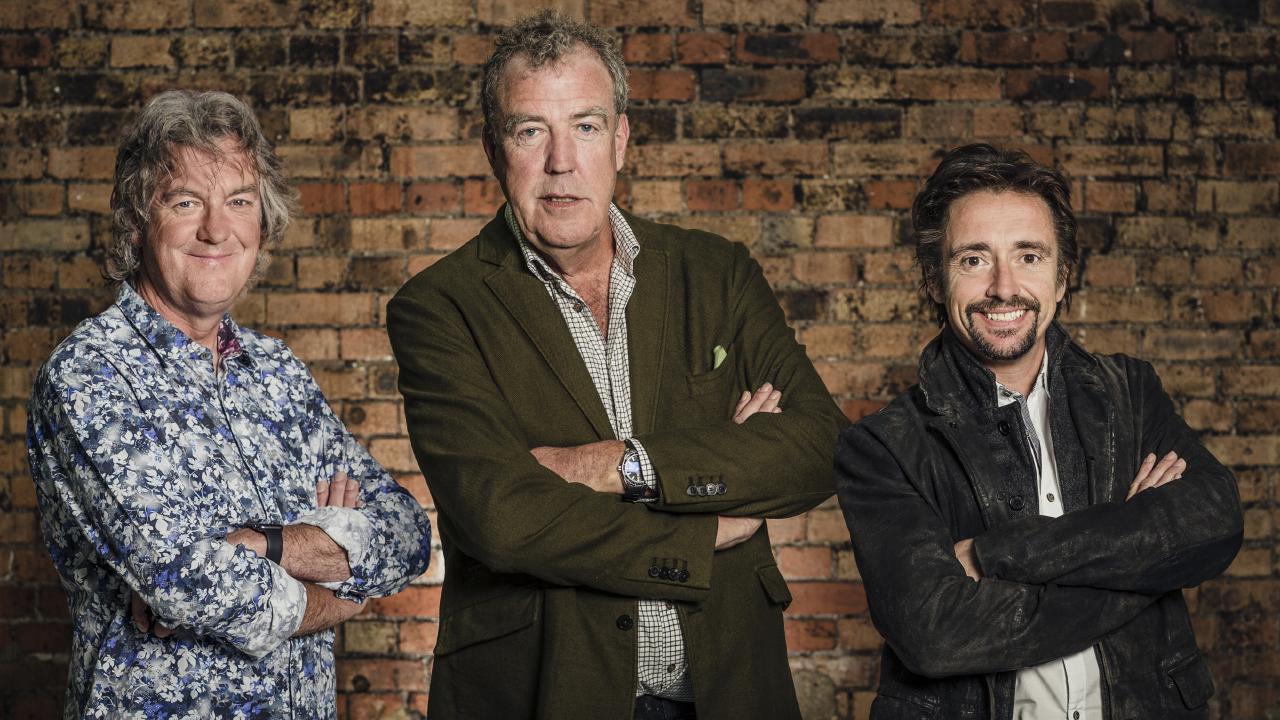 James May, Jeremy Clarkson and Richard Hammond.