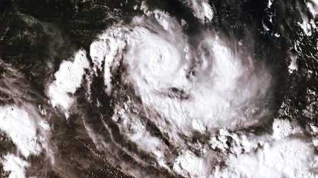 NASA Satellite image of Cyclone Owen