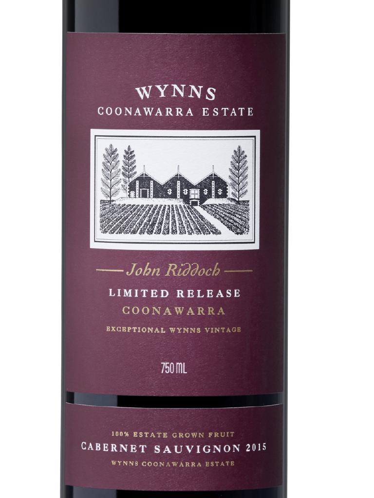 Wynns John Riddoch 2015 Cabernet Sauvignon ($110).
