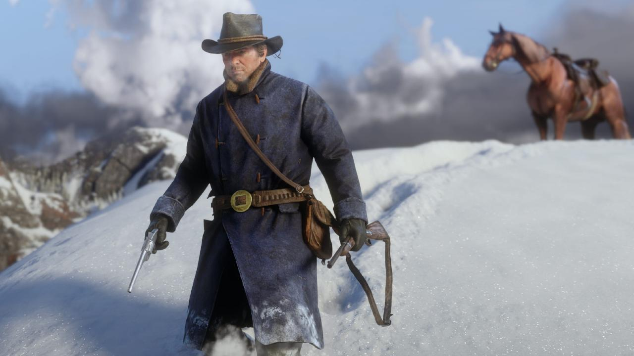 Red Dead Redemption 2 screen shot for Scene tech page.