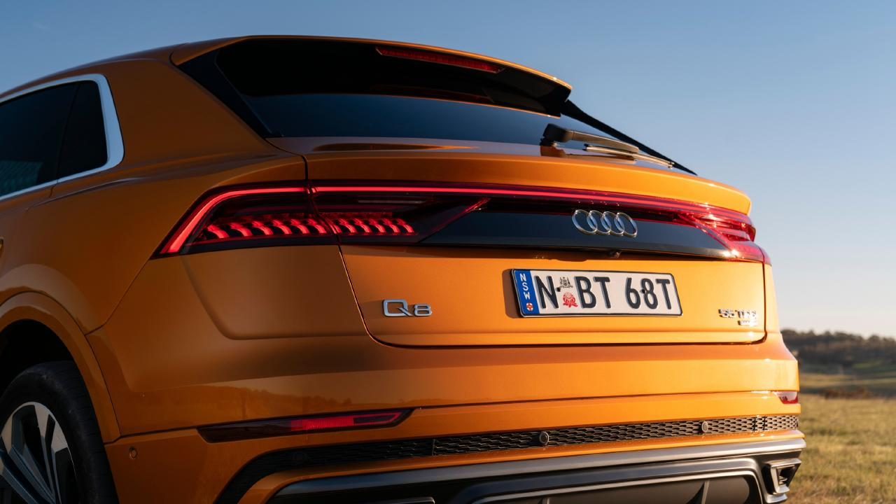 The Audi's rear end is up for much debate.